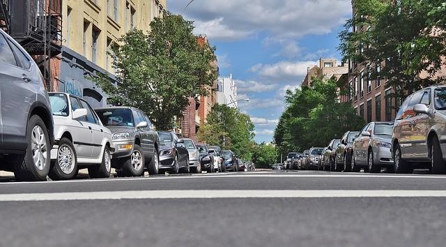 Parkirani automobili