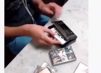 Vokmen i kaseta