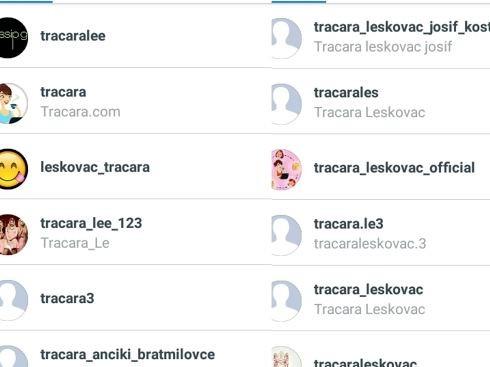Tracare Leskovac