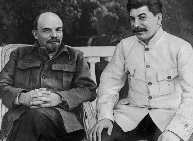 Lenjin i Staljin
