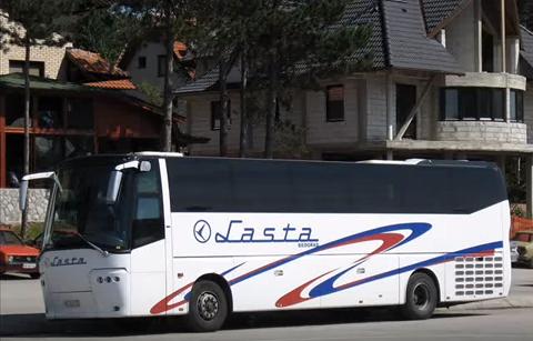 Lasta autobus