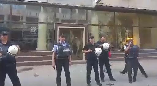 Makedonska policija