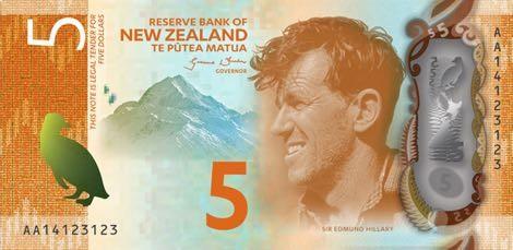 Novčanica Novog Zelanda