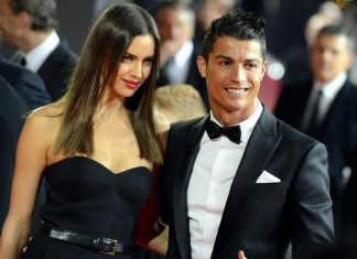 Irina Šajk Kristijano Ronaldo