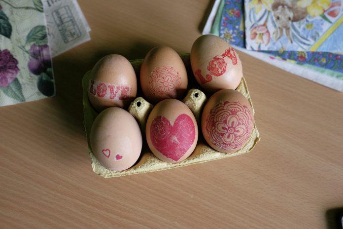 Dekupaž jaja 6