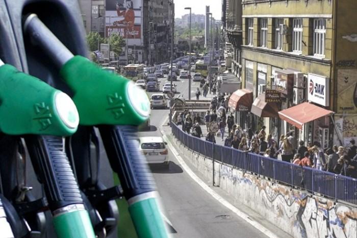 protest zbog poskupljenja goriva