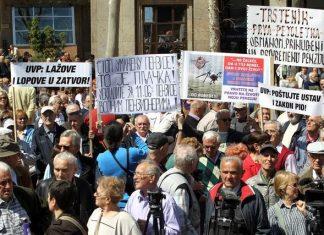 Penzioneri Protest