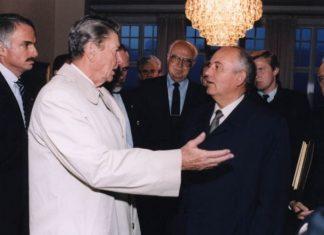 Regan i Gorbačov